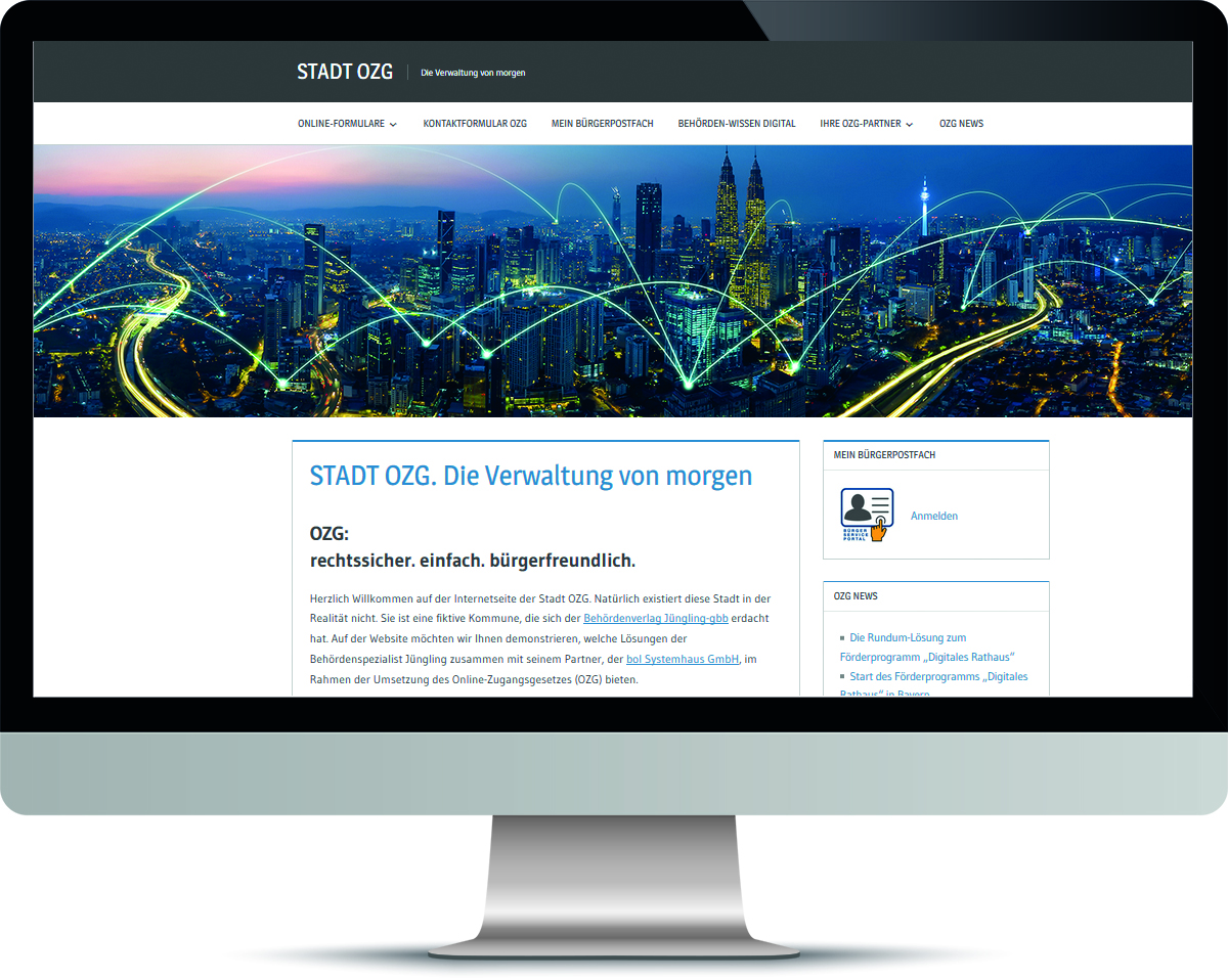 Website Stadt Ozg